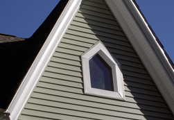 Vinyl Siding Installation With All Edges Perfectly Finished